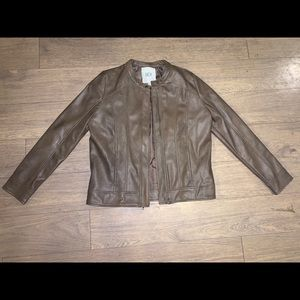 BB Dakota Jack light brown leather jacket